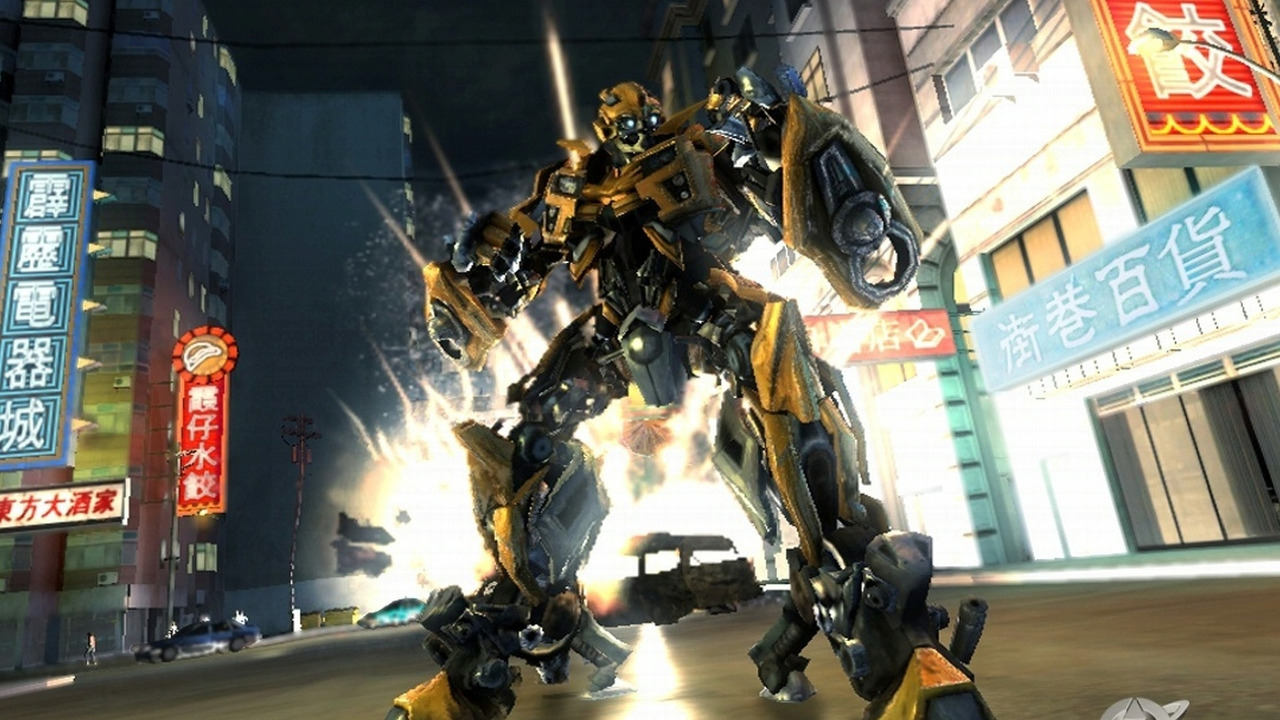 Transformers:Revenge of the Fallen Game