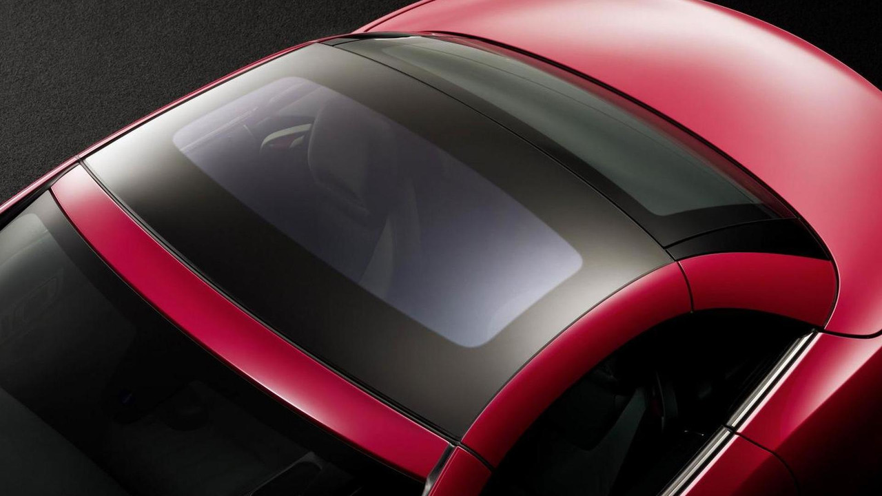 Mercedes SLK electrochromic glass roof