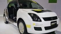Suzuki Swift Plug-in Hybrid live in Tokyo
