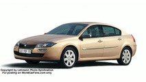 New Renault Laguna sedan computer illustration