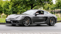 2018 Porsche 718 Cayman GTS casus fotoğrafları