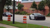 2019 Ford Mustang Shelby GT350 prototipi ve Porsche 911 GT3