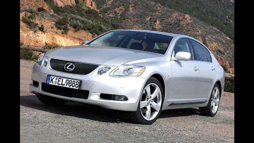 Endlich schön: Lexus GS 300 und 430 kommen