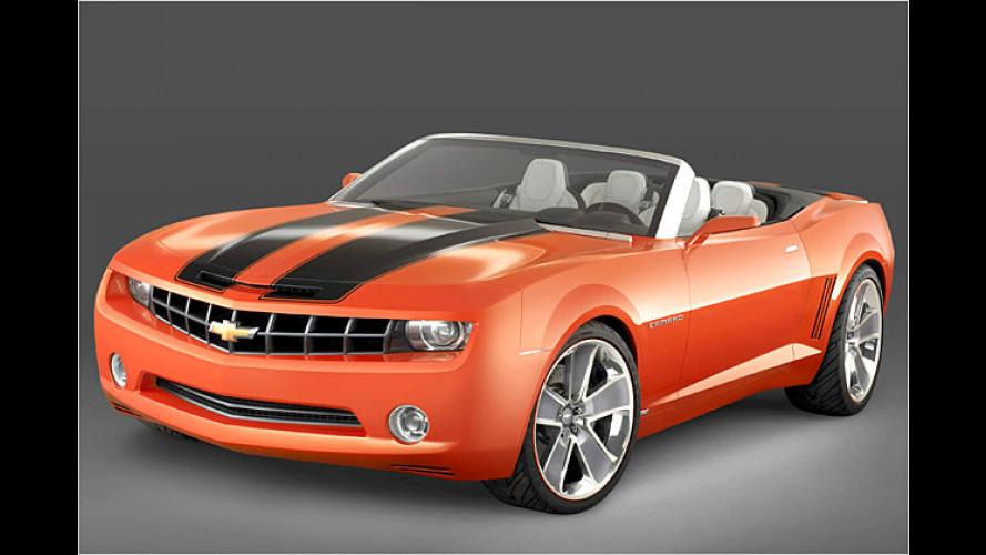 Muskulöser Aufschneider: Chevrolet bringt offenen Camaro