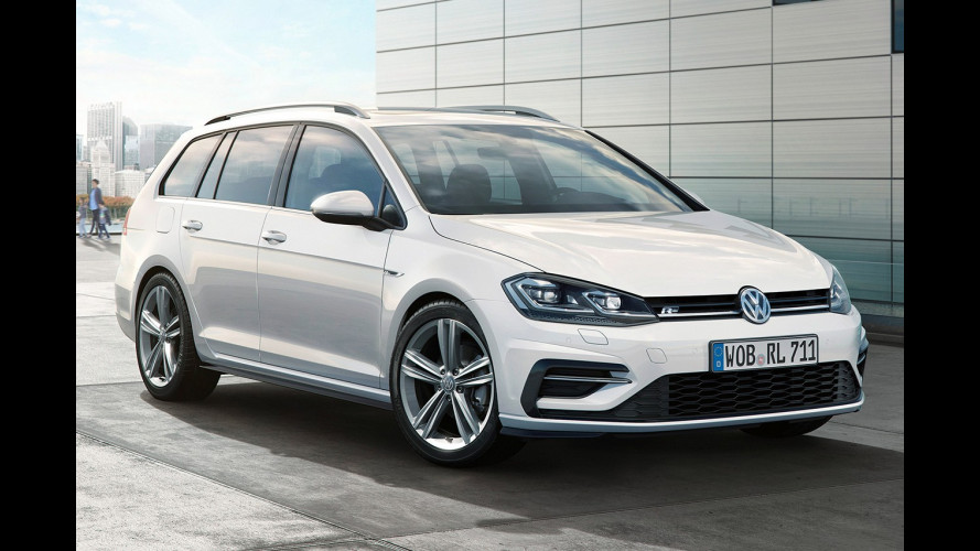 Volkswagen Golf R-Line restyling, fisico atletico