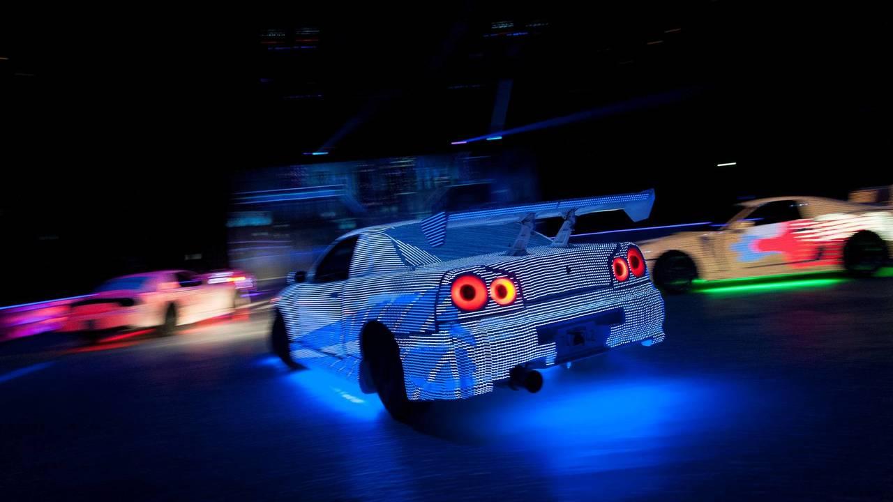 LED cars