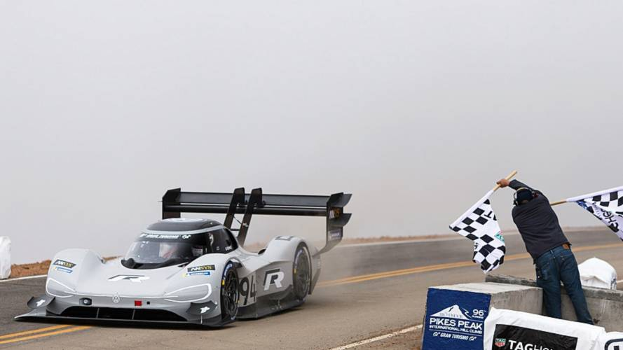 VW I.D. R Pikes Peak Shatters All-Time Record