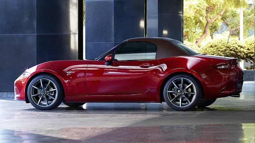 Mazda MX-5, più potenza con il restyling