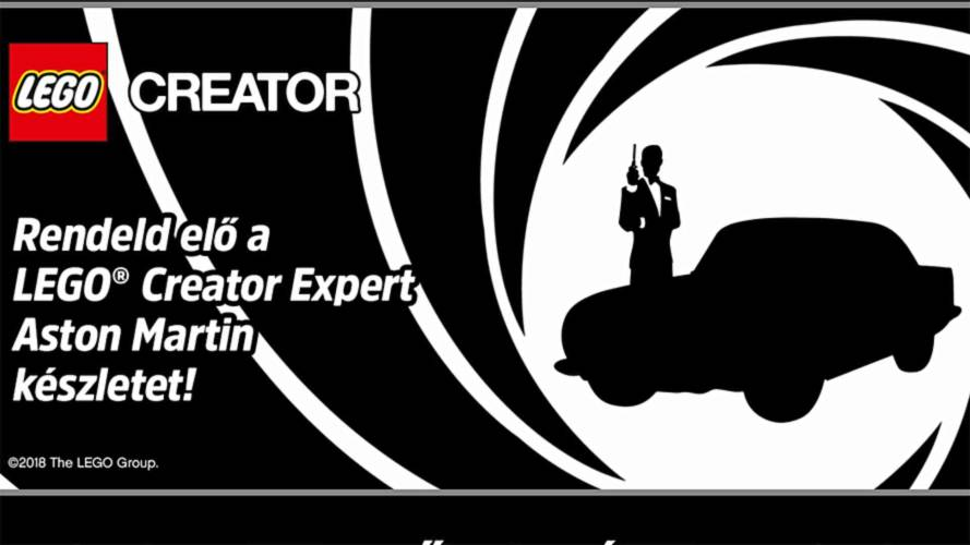 James Bond's Aston Martin DB5 Lego kit leaks, coming in August