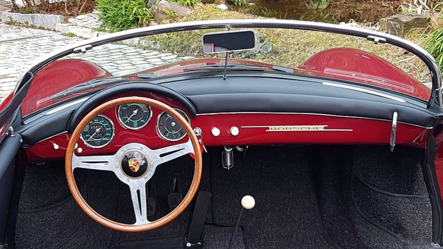 Unique 1956 Porsche 356 Speedster Polyantha Red Is A Retro
