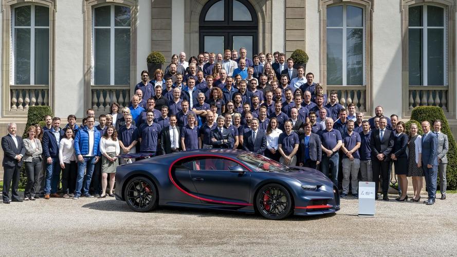 Bugatti, Chiron süper otomobilinin 100. adedini üretti