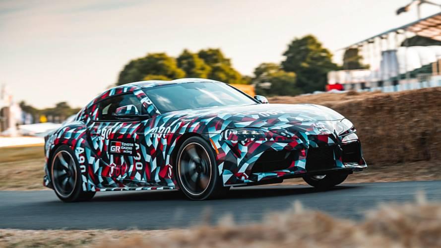 Esportivo da Toyota, Novo Supra aparece acelerando em Goodwood