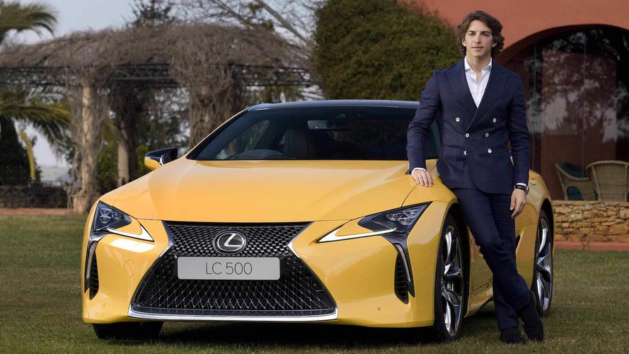 Roberto Merhi, embajador de Lexus