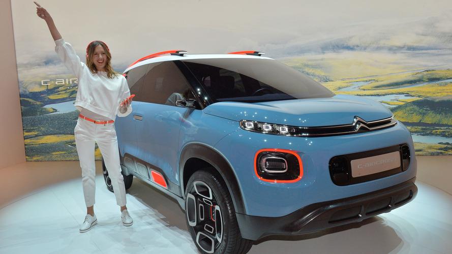 Citroën C-Aircross konsepti Cenevre'ye farklı bir duruş getirdi