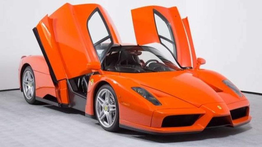 Plus de 3 millions d'euros pour l'unique Ferrari Enzo orange