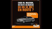 SIXT Macron et Hollande