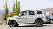 2018 Mercedes-AMG G63 spy photo