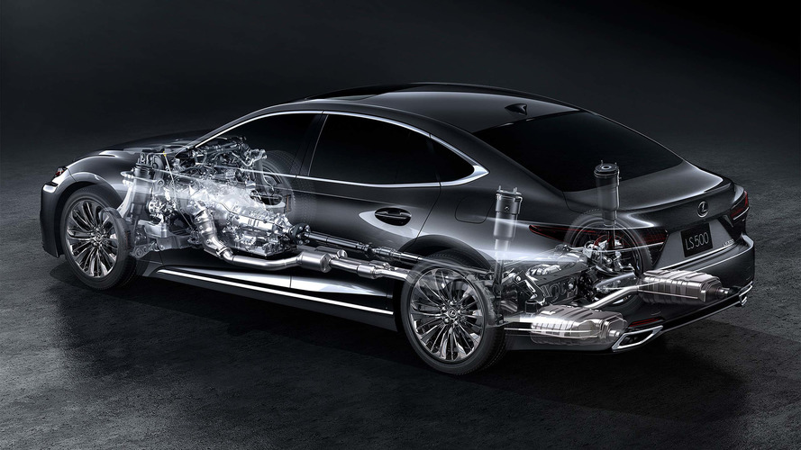 2018 Lexus LS 500h lüks ve çevreciliği birleştiriyor