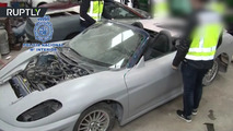 Shop busted for selling fake Ferraris and Lamborghinis in Spain