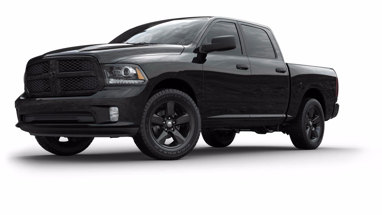2018 Ram Big Horn Black