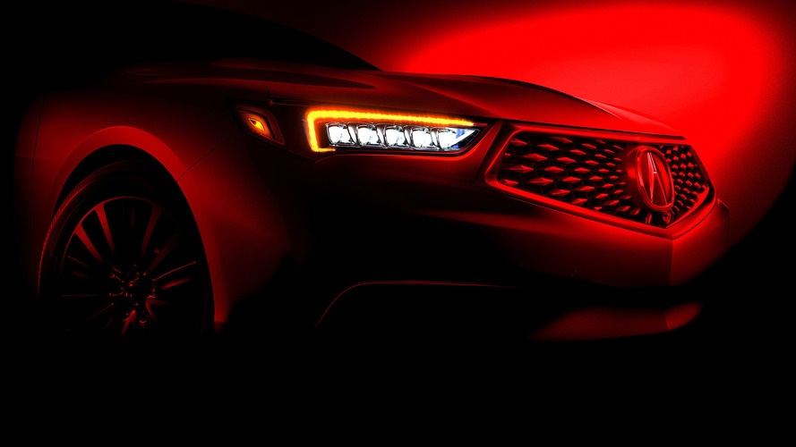 2018 Acura TLX Teased Ahead Of New York Debut