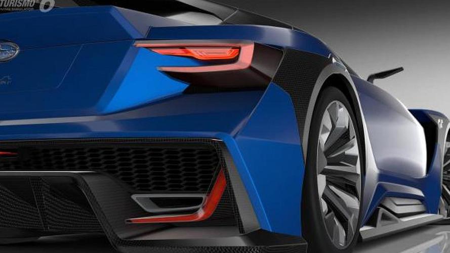 Subaru Viziv GT Vision Gran Turismo unveiled [video]