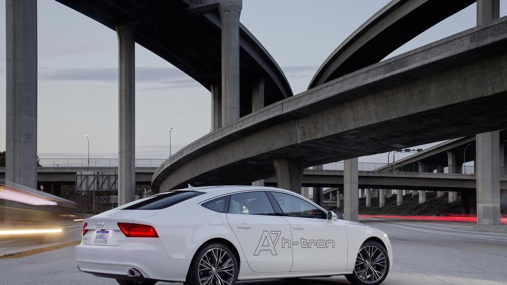 Автомобиль на водороде Audi A7 Sportback h-tron quattro