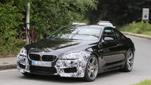 BMW M6 Coupe facelift spy photo
