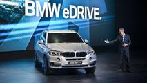 BMW X5 eDrive concept in Frankfurt