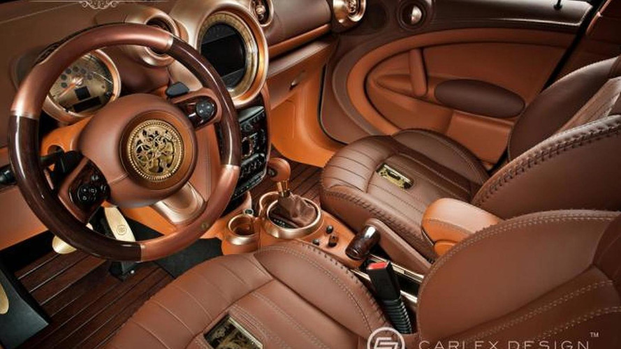MINI Countryman redesigned as a steampunk vehicle