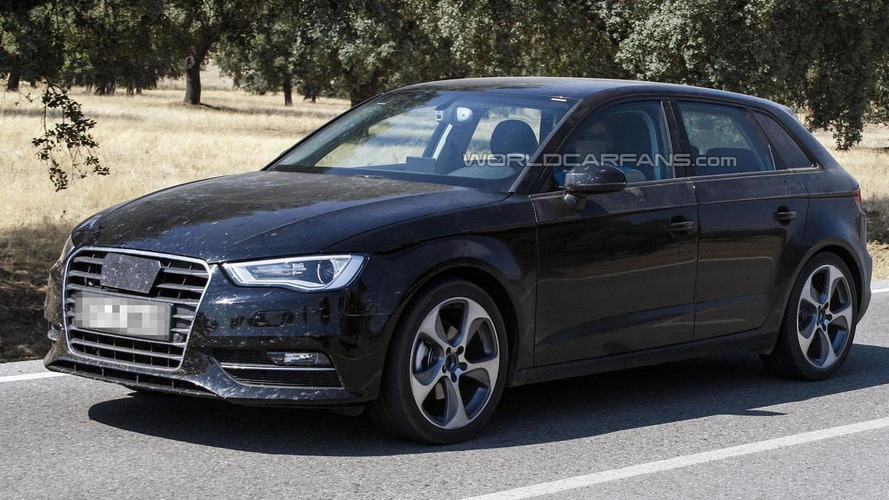 2013 Audi A3 Sportback spied with minimal disguise