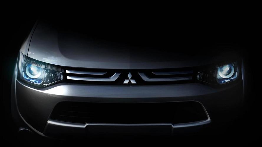 Mitsubishi tease new global-model ahead of Geneva debut