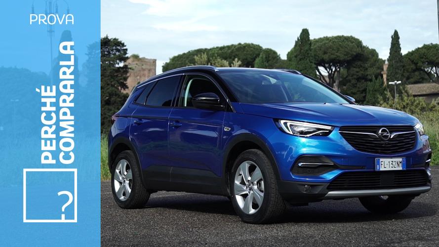 Opel Grandland X, perché comprarla... e perché no
