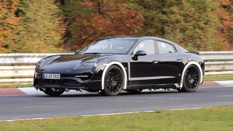 Porsche Mission E Gets Glossy On The 'Ring