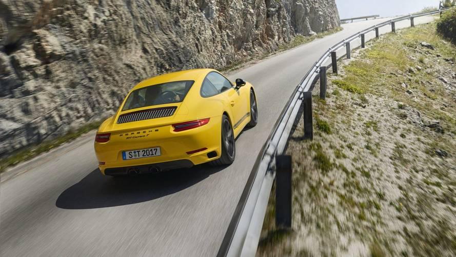 Mozgásban a nemrég debütált Porsche 911 Carrera T