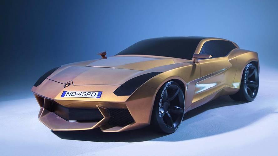 Et pourquoi pas une Lamborghini Shooting Brake ?