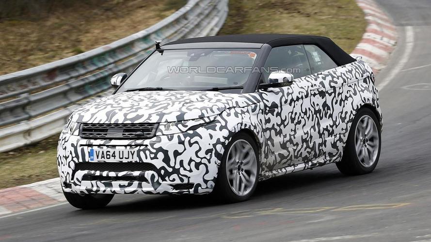 Range Rover Evoque Cabrio tackles the Nordschleife