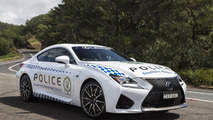 Lexus RC F for NSW Police in Australia