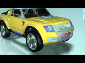 2011 Land Rover DC100 Sport Concept - The Making