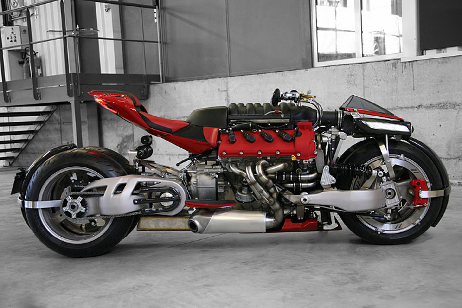 Yes, This Quad Bike is Built Around a Maserati V8