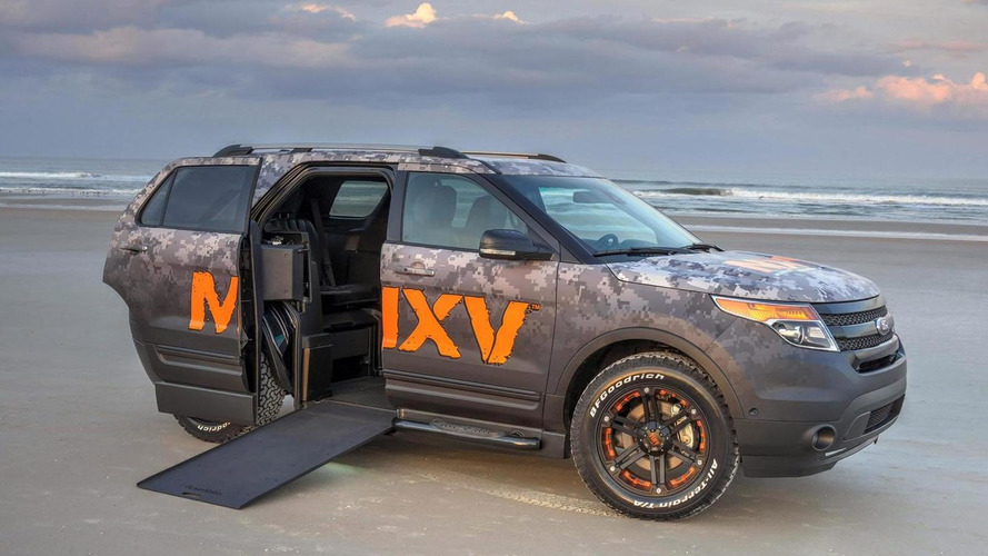 BraunAbility and Ford unveil wheelchair-accessible Exporer