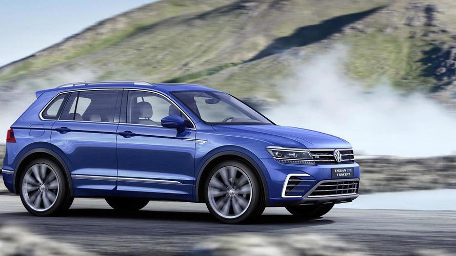 Volkswagen Tiguan GTE Plug-In Hybrid Concept Breaks Cover