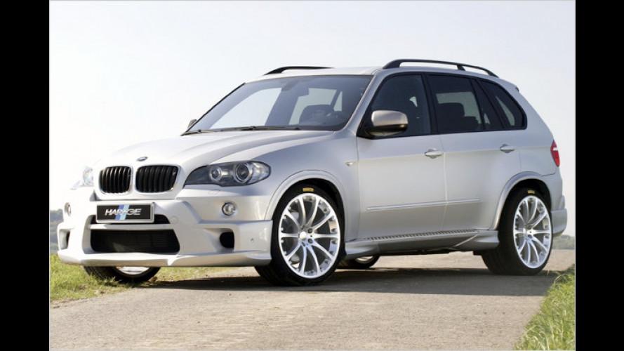 BMW X5 als Road Runner: Hartge macht dem Diesel Beine