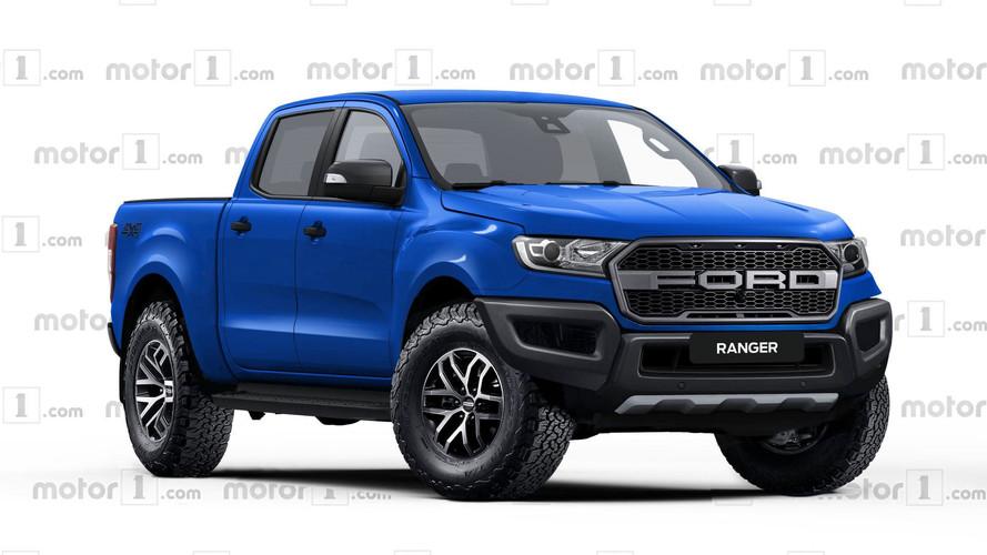 Ford Ranger Raptor tasarım yorumu Colorado ZR2'ye meydan okuyor