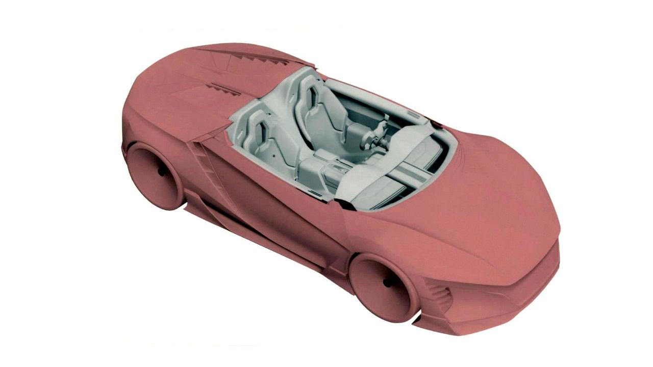 Bebek Honda NSX