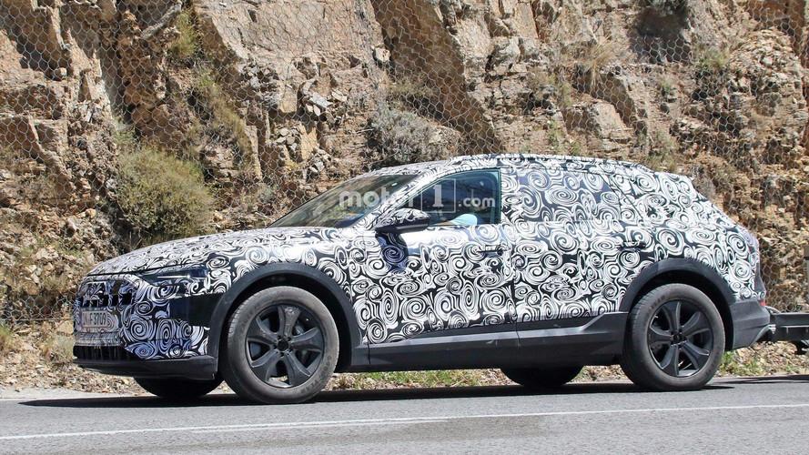 Audi - L'e-tron quattro photographié pour la première fois