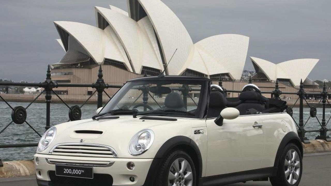 Pepper White MINI Cooper S Cabrio