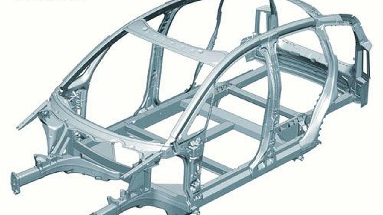 Audi A2 Aluminum Space Frame