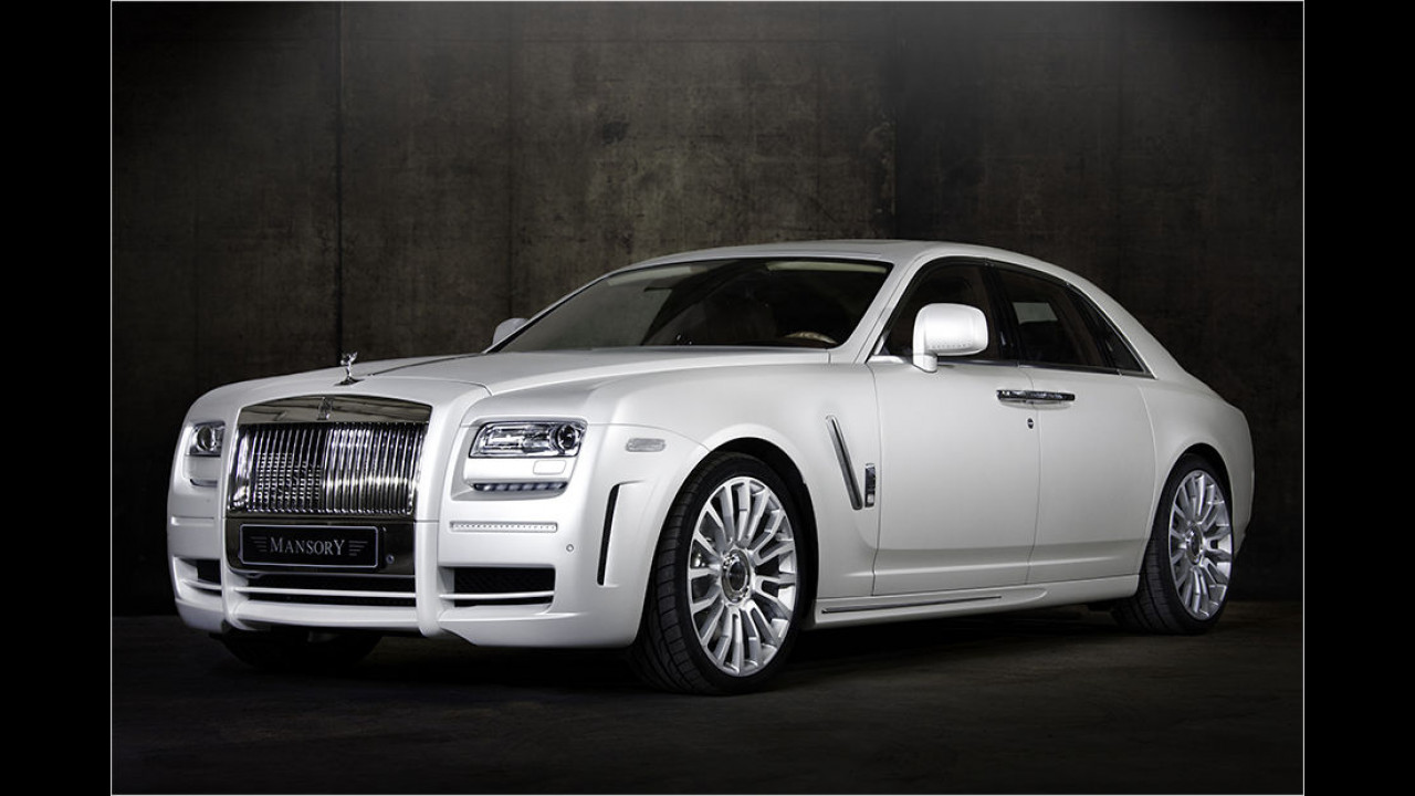 Mansory Rolls-Royce White Ghost Limited (2010)