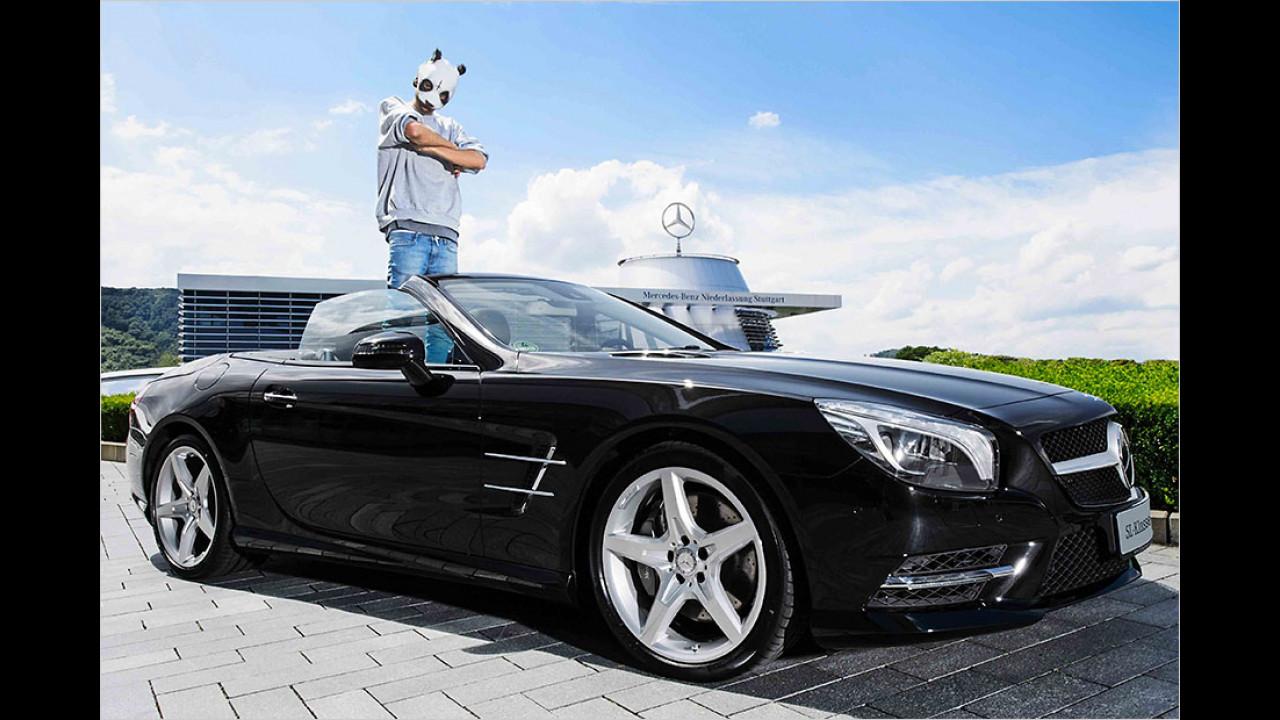 Cro: Mercedes SL